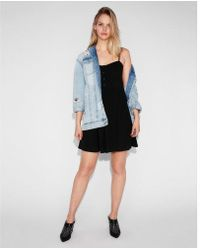 Express - Utton Front Cami Dress - Lyst
