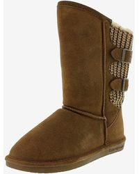 Express Bearpaw Boshie Suede Boots Brown 9