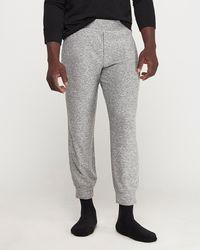 Express Plush Jersey Sweatpants Gray Xs