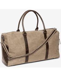 Express Brouk & Co. Excursion Duffel Bag Brown