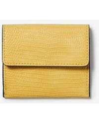 Express Fold-over Card Holder - Yellow