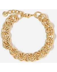 Express Tess + Tricia Gold Chain Bracelet Gold - Metallic