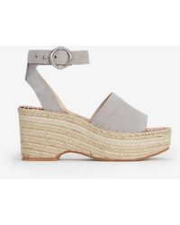 b667ccd6afd Dolce Vita Lesly Wedge Sandals Gray