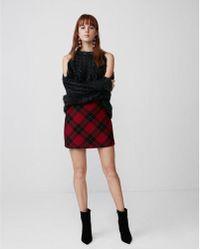 Express - A-line Mini Skirt - Lyst