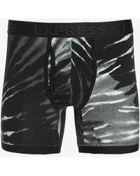 Express Tie-dye Boxer Briefs Black L