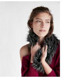 Express - Faux Fur Snood - Lyst
