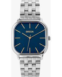 Express Breda Silver Visser Watch Blue