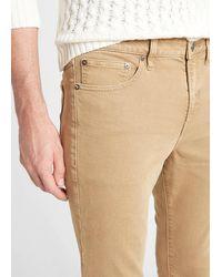 Express Super Skinny Clay Wash Temp Control Hyper Stretch Jeans, Size:w30 L32 - Brown