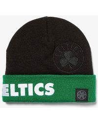 Express Boston Celtics Nba Beanie Black Reg