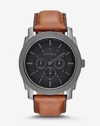 Express - Rivington Multi-function Watch - - Lyst