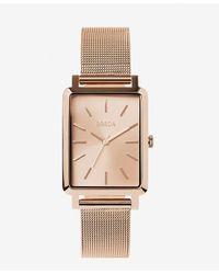 Express Breda Rose Gold Baer Watch Pink