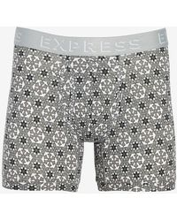 Express Holiday Boxer Briefs Gray M