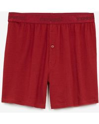 Express Red Supersoft Boxers