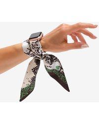 Express Wristpop Vicious Apple Watch Scarf Band Pink 42mm/44mm