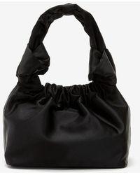 Express Soft Knotted Handle Mini Bag Black