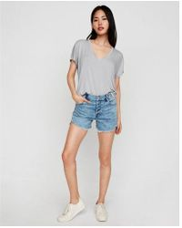 Express - One Eleven V-neck London Tee - Lyst