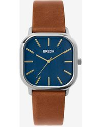 Express Breda Navy Visser Watch - Blue