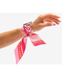 Express Wristpop Pink Blossom Apple Watch Scarf Band Pink 38mm/40mm