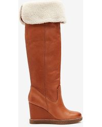 Express Dolce Vita Perly Boots Brown 6.5
