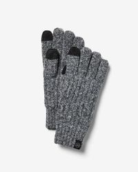 Express Touchscreen Compatible Marled Gloves - Grey