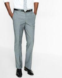 Express Slim Photographer Gray Suit Pant for Men - Lyst
