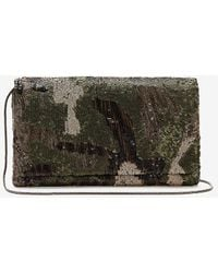 Express Sequin Camo Clutch Camo - Multicolor
