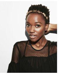 Express - Natasha Butterfly Headband - Lyst
