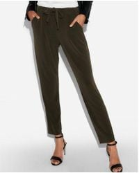 Express - Mid Rise Ankle Joggers - Lyst