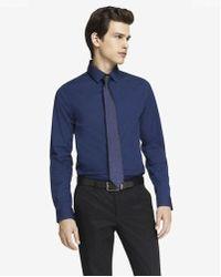 Express - Slim Fit 1mx Shirt - Lyst