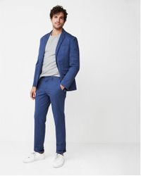 Express - Ig & Tall Slim Fit Washed Suit Pant - Lyst