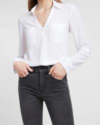 Express Two Pocket Portofino Shirt White