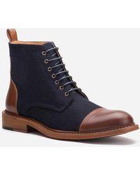 Express Vintage Foundry Remington Boots - Blue