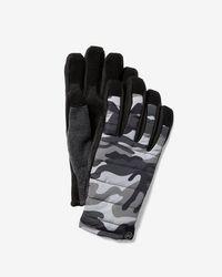Express Touchscreen Compatible Tech Snow Gloves - Multicolour