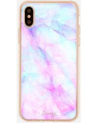 Express Casery Iridescent Crystal Matte Iphone Case - Multicolour
