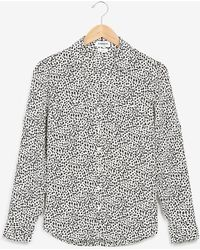 Express Original Fit Spot Print Portofino Shirt Print - Multicolour