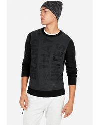 Tommy Jeans Mens Text Cn Sweater 32 Round Collar Jumper