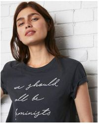 Express - One Eleven We Should All Be Feminists Graphic Tee - Lyst