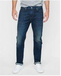 Express - Classic Straight Dark Wash Stretch Jeans, Men's Size:w33 L30 - Lyst