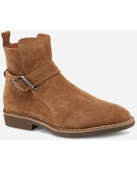 Express Vintage Foundry Grayson Chelsea Boots Brown 11