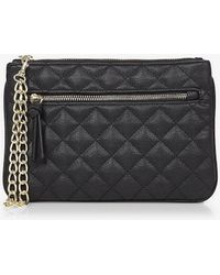 Express - Quilted Chain Strap Wristlet - Lyst