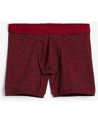 Express Marled Boxer Briefs Red Xs