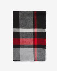 Express - Woven Stripe Scarf - Lyst