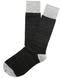 Express - Space Dye Dress Socks - Lyst