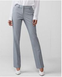 Express   Mid Rise Barely Boot Columnist Pant   Lyst