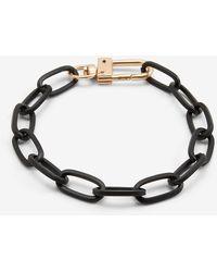 Express Black Chain Link Bracelet