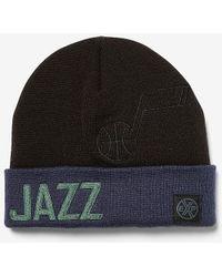 Express Utah Jazz Nba Beanie Black Reg