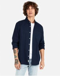 Express - Classic Soft Wash Button-down Oxford Shirt - Lyst