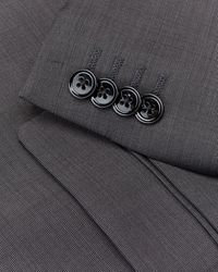 Express - Slim Charcoal Wool Blend Wrinkle-resistant Performance Suit Jacket - Lyst
