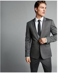 Express - Extra Slim Charcoal - Lyst
