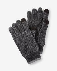 Express - Tech Touchscreen Compatible Winter Gloves - Lyst